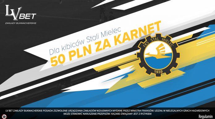 50 PLN za karnet na mecze Stali Mielec