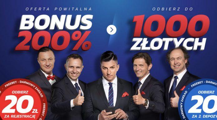 Etoto bonus na maj 2019. 20 PLN bez depozytu + 1000 PLN!