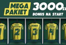 3050 zł dla nowych graczy Betfan. Najwięcej w Polsce!